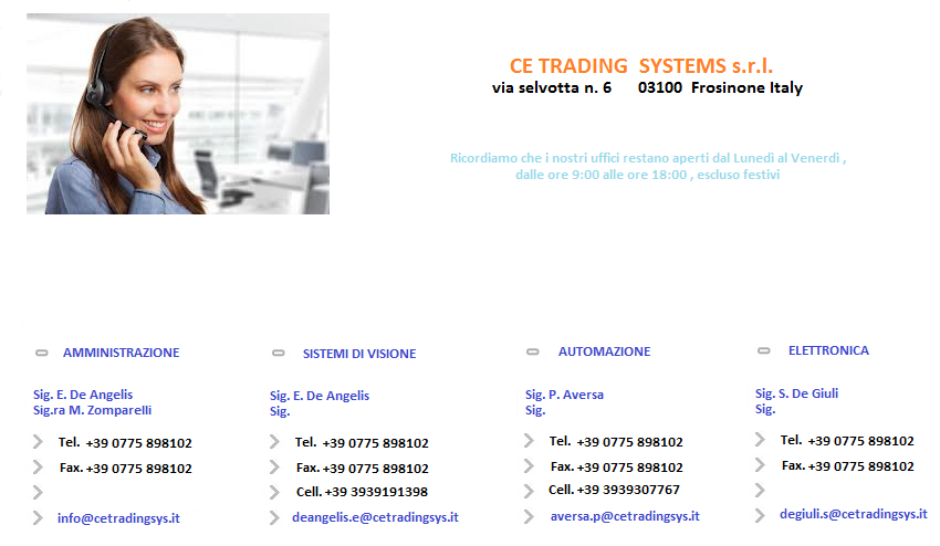 Trading system s.r.l